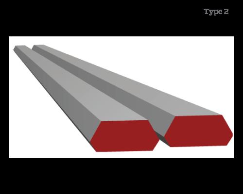 Grouser Bar Type 1